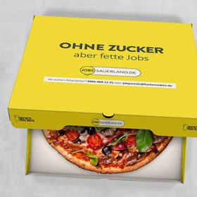 Pizzakarton To-Go Produkte To-Go Kampagnen Beispiele AD2GO