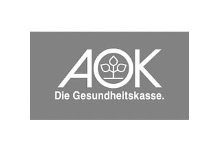 Referenz Logo AOK Gesundheitskasse AD2GO