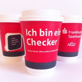 Frankfurter Sparkasse Coffee To-Go Becher AD2GO