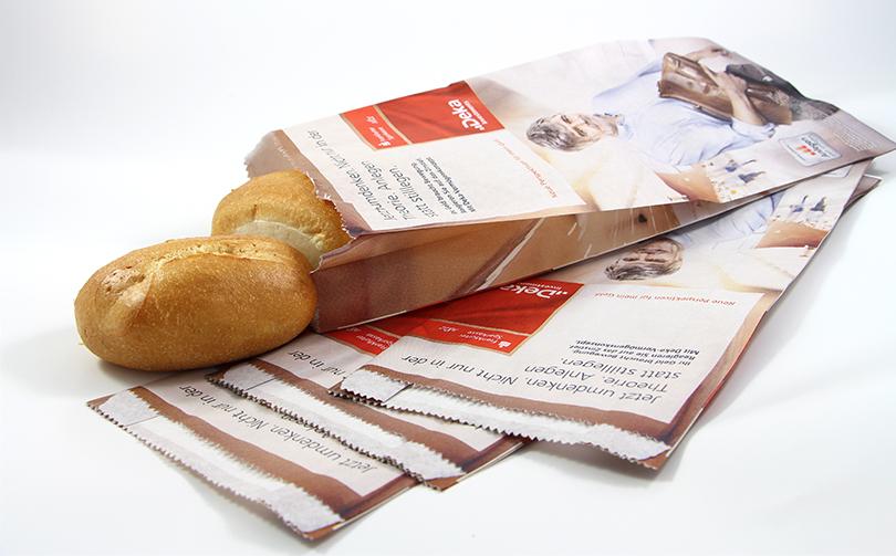 Frankfurter Sparkasse Coffee Bäckertüten Kampagne AD2GO