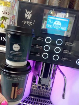 Kaffeemaschine WMF Coffee To-Go Becher AD2GO
