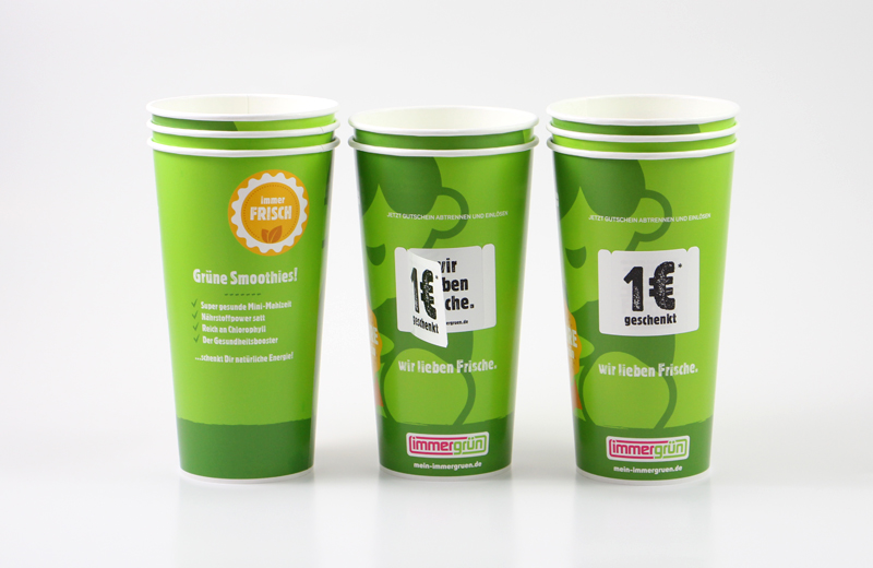 Softdrinkbecher To-Go Produkte AD2GO