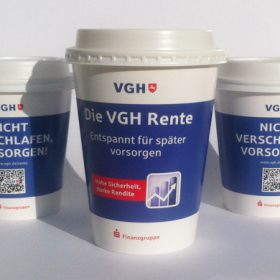 VGH Coffee To-Go Becher AD2GO