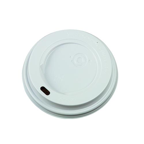 Coffee to go Becher Deckel in weiß ohne Schatten