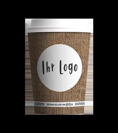Individueller unweltfreundlicher ReCup Coffee to go Becher